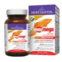 New Chapter WHOLEmega 1000mg 180 Soft Gels
