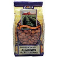 Now Foods Almonds Roasted and Salted 1 lb