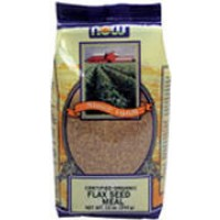 Now Foods Organic Flax Seed Meal 12 oz