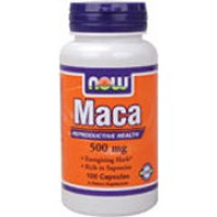 Now Foods Maca 500mg 100 Caps