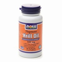 Now Foods Neptune Krill Oil 500mg 60 Gels