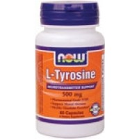 Now Foods L-Tyrosine 500mg 120 Caps