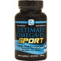 Nordic Naturals Ultimate Omega-D3 Sport 60 SoftGels