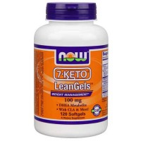 Now Foods 7-Keto 100 Mg Leangels 120 Softgels