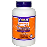 Now Foods Acetyl L-Carn 500 Mg 200 Vegetable Capsules