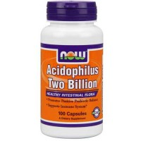 Now Foods Acidophilus 2 Billion 100 Capsules