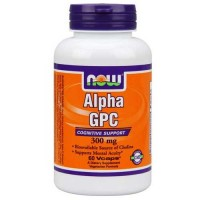 Now Foods Alpha Gpc 300 Mg 60 Vegetable Capsules