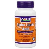 Now Foods Alpha Lipoic Acid 600 Mg 60 Vegetable Capsules