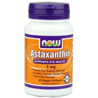 Now Foods Astaxanthin 4 Mg 60 Vegetable Softgels
