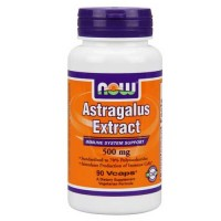 Now Foods Astragalus 70% Ext 500 Mg 90 Vegetable Capsules