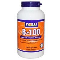 Now Foods B-100 Capsules 250 Capsules