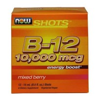 Now Foods Energy B-12 Now Shot 15 Ml 12 Pack