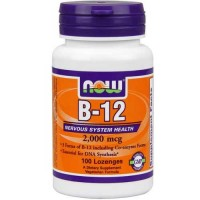 Now Foods Instant Energy B-12 2000 Mcg 100 Lozenges
