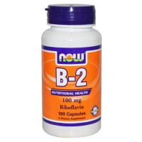 Now Foods B-2 100 Mg 100 Capsules