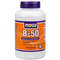 Now Foods B-50 250 Capsules
