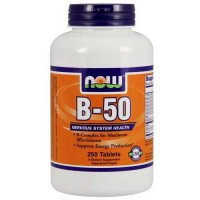 Now Foods B-50 Tablets 250 Tablets