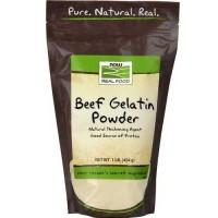 Now Foods Beef Gelatin Powder 1 Lb