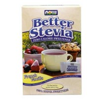 Now Foods Better Stevia Vanilla Packets 75/Box