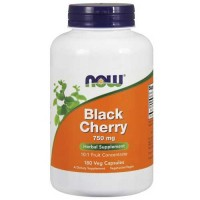 Now Foods Black Cherry Extract 750 Mg 180 Vegetable Capsules