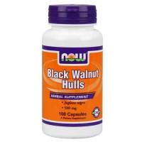 Now Foods Black Walnut Hulls 500 Mg 100 Capsules