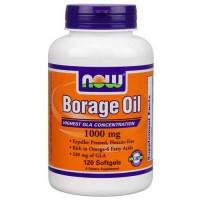 Now Foods Borage Oil 1000 Mg 120 Softgels