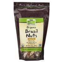 Now Foods Organic Brazil Nuts Raw 10 Oz