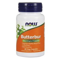 Now Foods Butterbur Ext 75 Mg 60 Vegetable Capsules