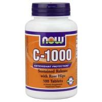 Now Foods C-1000 RH SR 100 Tablets