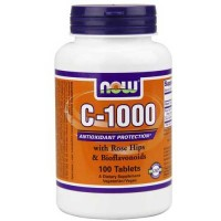 Now Foods C-1000 RH NO TR 100 Tablets