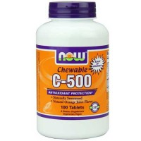Now Foods C-500 Chew Orange 100 Tablets