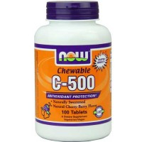 Now Foods C-500 Chew Cherry 100 Tablets