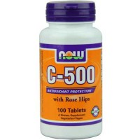 Now Foods C-500 Rh 100 Tablets