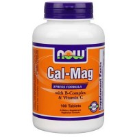 Now Foods Cal-Mag Stress 100 Tablets