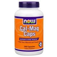 Now Foods Cal-Mag + D Softgels 240 Softgels