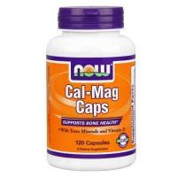 Now Foods Cal-Mag Capsules 120 Capsules
