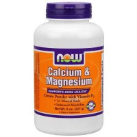 Now Foods Cal/Mag Citrate Powder 8 Oz