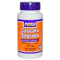 Now Foods Cascara Sagrada 450 Mg 100 Capsules