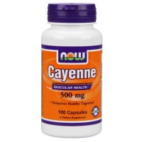 Now Foods Cayenne 500 Mg 100 Capsules