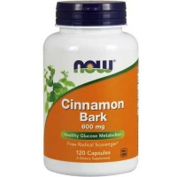 Now Foods Cinnamon Bark 600 Mg 120 Capsules
