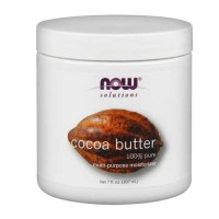 Now Foods Cocoa Butter Pure 7 Oz