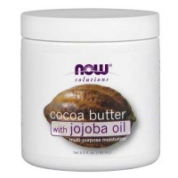 Now Foods Soft Cocoa Butter with Jojoba Oil 6.5 Oz