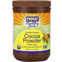 Now Foods Cocoa Powder Pure Organic 12 Oz