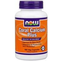 Now Foods Coral Calcium Plus Mag 100 Vegetable Capsules