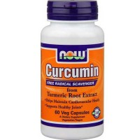 Now Foods Curcumin Extract 95% 665 Mg 60 Vegetable Capsules
