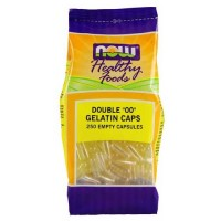 Now Foods Empty Gel Capsules '00' 250 Capsules