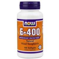 Now Foods E-400 Mixed Tocopherols 100 Softgels