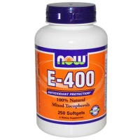 Now Foods E-400 Mixed TOC 250 Softgels