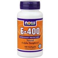 Now Foods E-400 DA 100 Softgels
