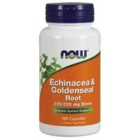 Now Foods Ech / Gseal Root 225/225 Mg 100 Capsules