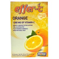Now Foods Effer-C (TM) Orange Box of 30